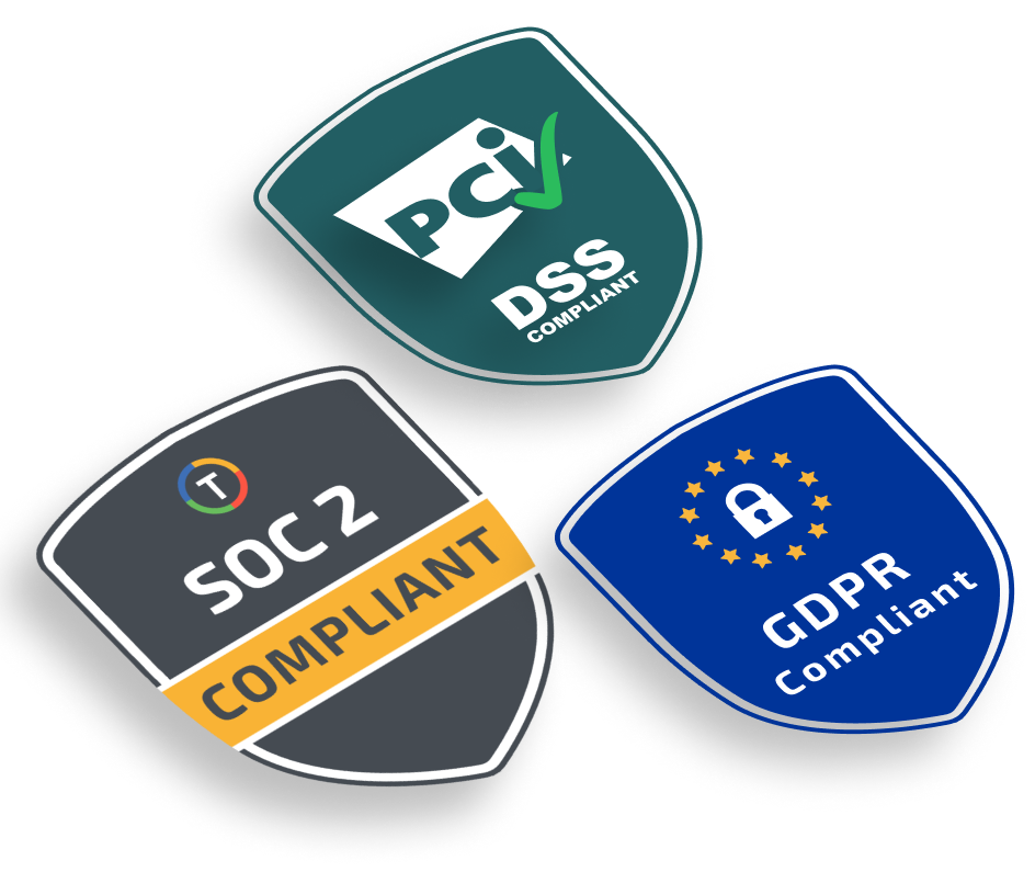 TelemetryTV is SOC2, GDPR, and PCI Compliant